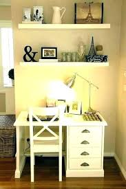 Small White Desks For Bedrooms Small White Desk With Drawers Small ...