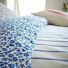 nautical themed bedding by joules sea ditsy nautical print reverse