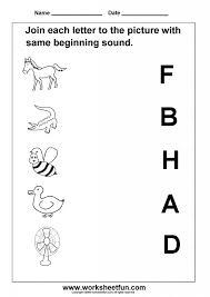 Kindergarten Beginning Sounds Blends Worksheets | Worksheet ...