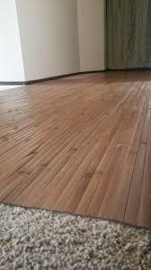 installing laminate flooring over carpet padding
