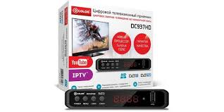 Ресивер <b>DVB</b>-<b>T2 D</b>-<b>Color</b> DC937HD черный