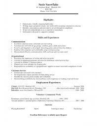 High School Correct Resume Template Sample Jamaican Resume Emory