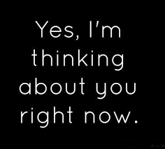 Thinking Of You Quotes For Her Delectable Yes I'm Thinking About You Tap To See More 'I Love You' Quotes