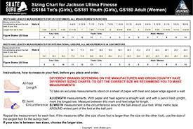 Jackson Ultima Softskate Gs180 Fleece Size 7
