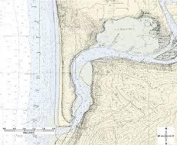 Noaa Bathymetric Charts Modern Bathymetric Chart Noaa 18556 Overlain On The Uscgs