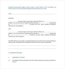 X A Previous Image Wallpaper Supply Agreement Template Free ...