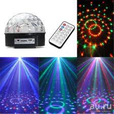 Диско-шар LED <b>Crystal</b> Magic Ball Light с приемником bluetooth ...