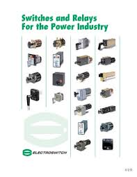 electroswitch electroswitch 125vdc lock out relay series 24 catalog