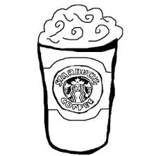 Draw So Cute Coloring Pages Starbucks