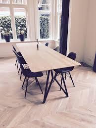 studio h k design eettafel erfly wandkasten krukken salontafels eikenhout staal studio henk nl