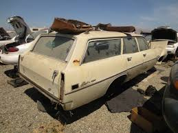 Junkyard Find: 1970 Ford Fairlane 500 Station Wagon - The Truth ...