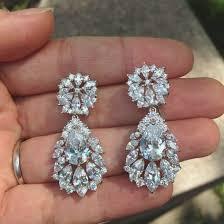 chandelier earrings bridal jewelry vintage wedding wedding