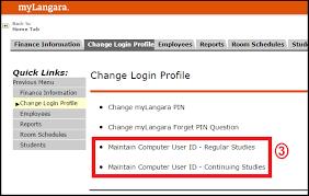 And Employee Langara Technology Passwords Information Accounts