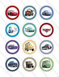 Afbeeldingsresultaat Voor Cars Cupcake Toppers Printables Nate