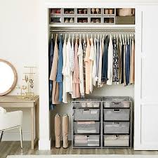 bedroom closet storage. Contemporary Storage Our Closet Starter Kits Throughout Bedroom Storage The Container Store