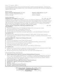 Ideas of Sample Resume For Mba Graduate With Reference