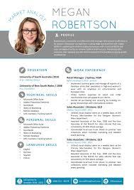 New Resume Template Cv Template Professional Resume Modern Cv Best ...