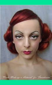 history of make up 1930 s