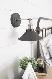 bedroom sconces lighting. Farmhouse Master Bedroom Industrial Sconce Lighting Our #Farmhouse Update With @raymourflanigan! Its ALL About The Details! AD More Sconces