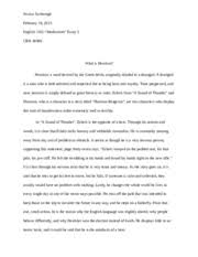 the most dangerous game essay it sets a tone that interests the  2 pages modernism essay lit