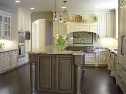 Kitchen Dark Wood Floors Two Pieces Wrought Iron Bar Stools White Kitchens Dark Floors