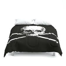 skull and crossbones jolly roger comforters bedding comforter