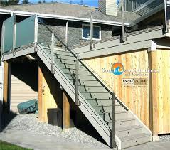 glass railing for decks remarkable glass deck railing company in glass deck railing systems