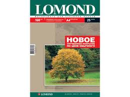 <b>Бумага</b> Lomond A4 160 г/м2 50л <b>глянцевая односторонняя с</b> улуч ...