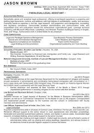 Resume Objective For Legal Assistant Best of Litigation Paralegal Resume Sample Legal Assistant Resume Sample