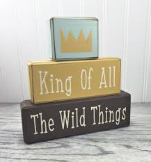 children s king of all the wild things where the wild things are nursery decor