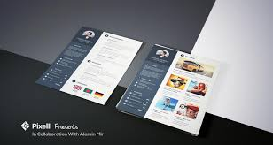 Best Job Resume Format With Business Card Free Psd Templates