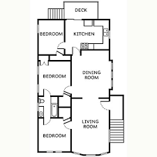 Stand alone guesthouse   Craftsman Style House Remodel   SunsetCraftsman floor plan before