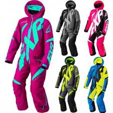 Fxr Racing Cx Cold Cross Youth Snowmobile Monosuit Sleds