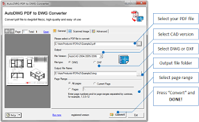 Convert Dwg To Dxf Pdf Dwg Converter Converting Pdf To Dwg Dxf Files On Windows Os