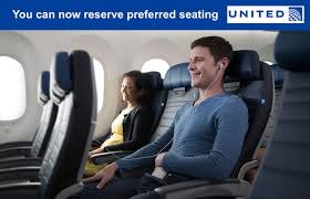 United Economy Plus Seating Chart United Airlines Introduces Preferred Seating Right Behind