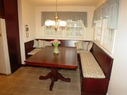 Furniture Elegant Dining Design With Cool Corner