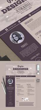 Creative Resume Templates Free 100 Free Creative Resume Templates with Cover Letter Freebies 95