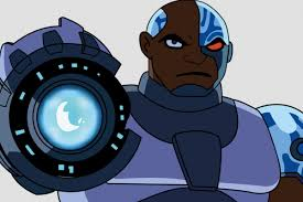 Cyborg from teen titans
