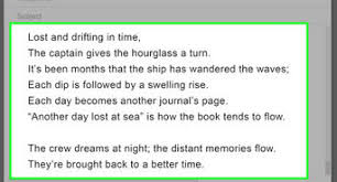 How To Write An Epic Poem 7 Steps With Pictures Wikihow
