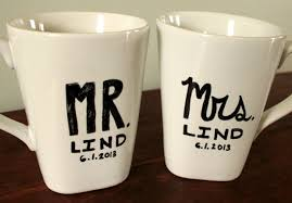 Mug Design Ideas Diy Mr Mrs Wedding Gift Mug Art Bringing Design Home Cup Design Ideas
