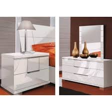 Red High Gloss Bedroom Furniture Vivo Furniture - Red gloss bedroom furniture
