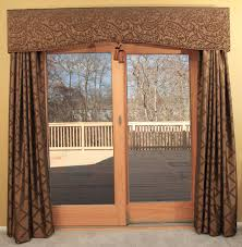 lovable window treatments for french doors