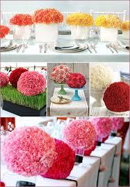 Make Tissue Paper Flower Balls Handmade Crepe Paper Rose Centerpieces Pepper Design Blog