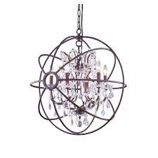 cosmopolitan 6 light 25 crystal orb chandelier cosmopolitan 6 light 25 crystal orb chandelier