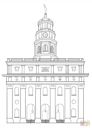 Small Picture Nauvoo LDS Temple coloring page Free Printable Coloring Pages