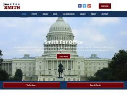 Political Website Templates Campaign Website Templates Downloadable