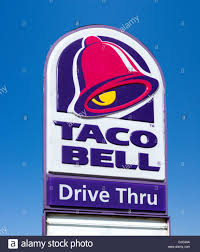 taco bell sign. Beautiful Sign Taco Bell Restaurant Haines City Central Florida USA  Stock Image Intended Sign Alamy