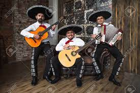 Mexican Musicians In The Studio, In The Interior. Mexico, Mariachi,.. Stock  Photo, Picture And Royalty Free Image. Image 99358753.