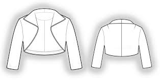 Bolero Jacket Pattern Fascinating Bolero Sewing Pattern 48 Madetomeasure Sewing Pattern From