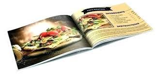 Food Recipes Brochure Catalog Design By Recipe Template